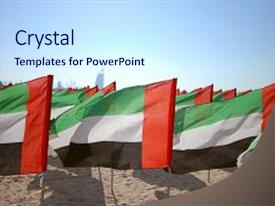 Uae powerpoint templates ppt themes with uae backgrounds presentation design with arab emirates for the anniversary background and a sky blue colored foreground toneelgroepblik Gallery
