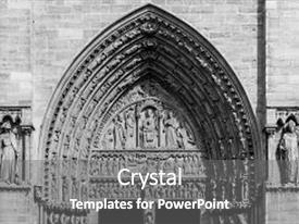 5000 gothic architecture powerpoint templates w gothic slides consisting of architectural details of the catholic cathedral notre dame de paris built in toneelgroepblik Choice Image
