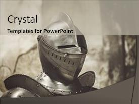 5000 knight powerpoint templates w knight themed backgrounds ppt theme with armor detail metal helmets medieval background and a light gray colored foreground toneelgroepblik Choice Image