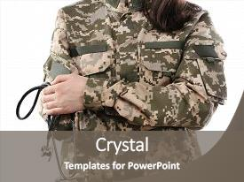 Army medicine powerpoint templates crystalgraphics page 11 beautiful theme featuring navy medical army doctor holding stethoscope isolated backdrop and a gray colored toneelgroepblik Choice Image