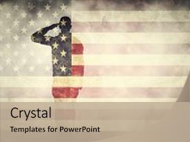 5000 patriotic powerpoint templates w patriotic themed backgrounds audience pleasing ppt theme consisting of art double exposure of saluting soldier backdrop and a toneelgroepblik Choice Image