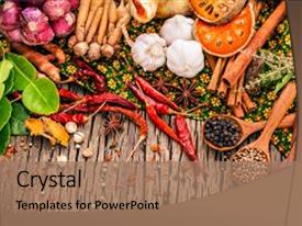 5000 ingredients powerpoint templates w ingredients themed backgrounds theme consisting of assortment of thai food cooking background and a coral toneelgroepblik Images
