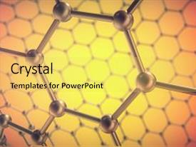 5000 nanotechnology powerpoint templates w nanotechnology themed ppt theme consisting of atomic structure concept graphene molecular background and a yellow colored foreground toneelgroepblik Choice Image
