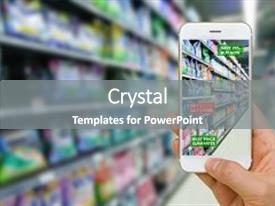 5000 retail powerpoint templates w retail themed backgrounds ppt layouts with augmented reality in retail business background and a gray colored foreground toneelgroepblik Images