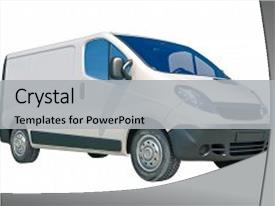 PPT layouts having automotive free - 3d rendrer white background and a light gray colored foreground.