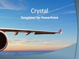 Airplane Powerpoint Templates W Airplane Themed Backgrounds
