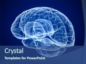 Slide deck enhanced with axon - brain scan x-ray 3d render background and a ocean colored foreground.