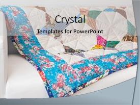 5000 quilt powerpoint templates w quilt themed backgrounds colorful ppt theme enhanced with oriental craft background flower print color blanket backdrop and a toneelgroepblik Image collections