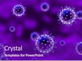 Life Cell Biology Background Powerpoint Templates W Life