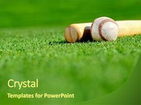 5000 bat powerpoint templates w bat themed backgrounds slide deck with baseball bat and ball background and a tawny brown colored foreground toneelgroepblik Gallery