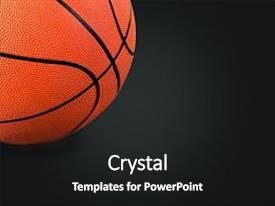 cool new ppt layouts with basketball march final hoop four backdrop and a colored foreground