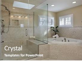 Bathroom Fixtures Powerpoint Templates W Bathroom Fixtures Themed Backgrounds