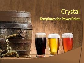 top craft beer powerpoint templates backgrounds slides and ppt themes
