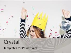 5000 black white party powerpoint templates w black white party