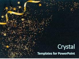 Black Gold Powerpoint Templates W Black Gold Themed Backgrounds
