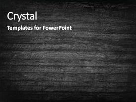 PPT theme having black wood texture background abstract background and a dark gray colored foreground.