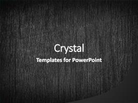 Beautiful presentation design featuring black wood texture background abstract backdrop and a dark gray colored foreground.