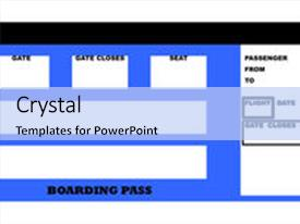 Top Boarding Pass Powerpoint Templates Backgrounds Slides And Ppt