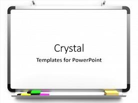 Whiteboard powerpoint templates ppt themes with whiteboard theme having blank mounted on wall background and a white colored foreground toneelgroepblik Choice Image