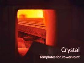 2000 metallurgical powerpoint templates w metallurgical themed audience pleasing theme consisting of blast furnace at a plant heavy industry metal toneelgroepblik Gallery