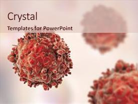 White Blood Cells Powerpoint Templates W White Blood Cells Themed