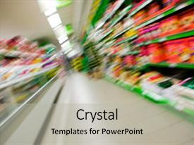 Top grocery store powerpoint templates backgrounds slides and ppt presentation theme consisting of blur of a grocery store background and a light gray colored foreground toneelgroepblik Gallery