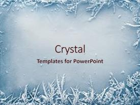 Crystal powerpoint templates ppt themes with crystal backgrounds ppt theme consisting of border on ice christmas background background and a lemonade colored foreground toneelgroepblik Gallery