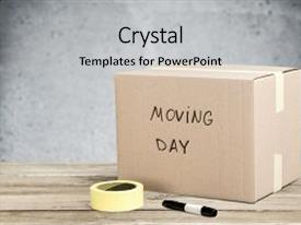 5000 cardboard powerpoint templates w cardboard themed backgrounds ppt theme consisting of box day cardboard moving cardboard background and a light gray colored foreground maxwellsz