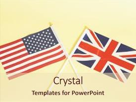 500 American Flag British Flag Powerpoint Templates W American