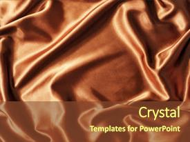 Cool new theme with brown colored fabric as texture backdrop and a tawny brown colored foreground.