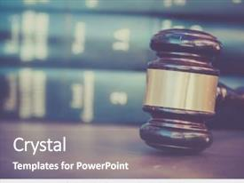 Presentation having burden of proof legal law background and a gray colored foreground