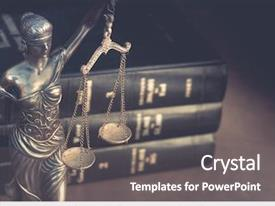 PPT theme having burden of proof legal law background and a gray colored foreground