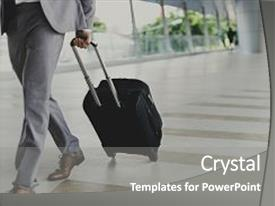 5000 business trip powerpoint templates w business trip themed cool new ppt theme with businessmen luggage business trip travel backdrop and a gray colored foreground toneelgroepblik Gallery