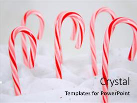 5000 candy canes powerpoint templates w candy canes themed backgrounds