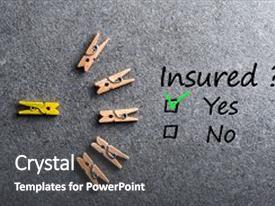 insurance themed powerpoint template  5000  Insurance PowerPoint Templates w/ Insurance-Themed Backgrounds