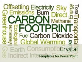 Top Carbon Footprint Powerpoint Templates Backgrounds Slides And