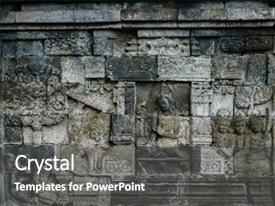 5000 java powerpoint templates w java themed backgrounds colorful presentation theme enhanced with relief at borobudur on java backdrop and a dark gray colored toneelgroepblik Choice Image