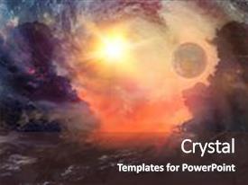 celestial theme powerpoint
