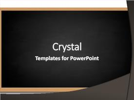 PPT theme enhanced with chalk board - isolated on white background available background and a dark gray colored foreground.