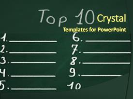300 top ten list powerpoint templates w top ten list themed