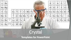 PPT layouts having chemistry science medical education  background and a gray colored foreground.