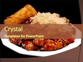5000 chinese food powerpoint templates w chinese food themed amazing slide deck having chinese food sesame chicken isolated backdrop and a tawny brown colored foreground toneelgroepblik Images
