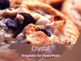 5000 chocolate chip cookie powerpoint templates w chocolate chip