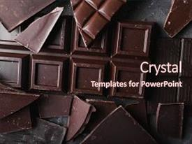 Chocolate powerpoint templates ppt themes with chocolate backgrounds presentation theme with chocolate on gray abstract background background and a wine colored foreground toneelgroepblik Choice Image