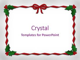 Top Christmas Borders Powerpoint Templates Backgrounds Slides And