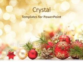 1000 Three Christmas Balls Powerpoint Templates W Three Christmas