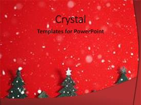Theme enhanced with christmas holiday background with santa background and a red colored foreground.