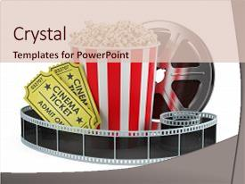 5000 cinema powerpoint templates w cinema themed backgrounds colorful presentation theme enhanced with concept film reel popcorn backdrop and a lemonade toneelgroepblik Choice Image