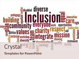 Top Diversity Inclusion Powerpoint Templates Backgrounds