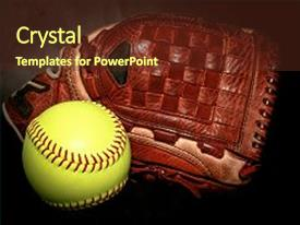 top softball powerpoint templates backgrounds slides and ppt themes